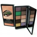 NYX Eyeshadow Palette 10 Colour Mysterious Brown  Eyes