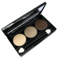 NYX Trio Eyeshadow Nude/Taupe/Dark Brown