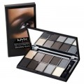 NYX Eyeshadow Palette 10 Colour Smokey Eyes