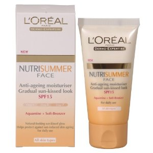 L Oreal Nutrisummer Face Cream Spf15 50ml